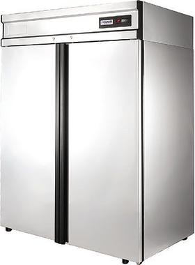 Холодильный шкаф из нержавеющей стали POLAIR CV110-G фото, купить в Липецке | Uliss Trade