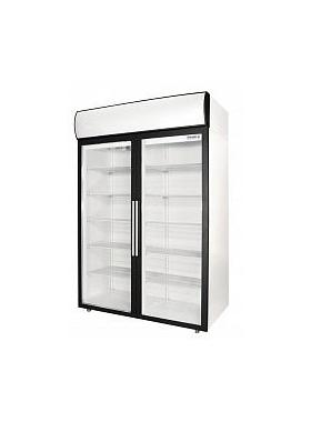 Холодильный шкаф POLAIR DM110-S со стеклянными дверьми распашными фото, купить в Липецке | Uliss Trade