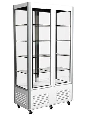 Холодильный шкаф Полюс Сarboma R800С с 4-х сторонним остеклением фото, купить в Липецке   Uliss Trade