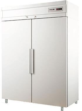 Холодильный шкаф с металлическими дверьми POLAIR CV110-S фото, купить в Липецке | Uliss Trade