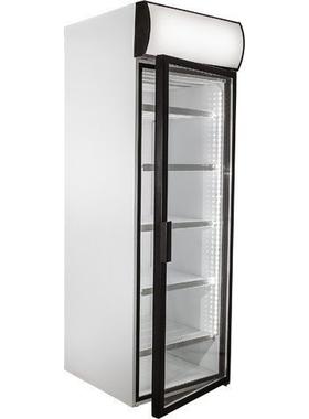 Холодильный шкаф со стеклянными дверьми POLAIR-Pk DM107-Pk фото, купить в Липецке   Uliss Trade