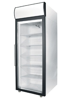 Холодильный шкаф со стеклянными дверьми POLAIR Standard DM105-S фото, купить в Липецке | Uliss Trade