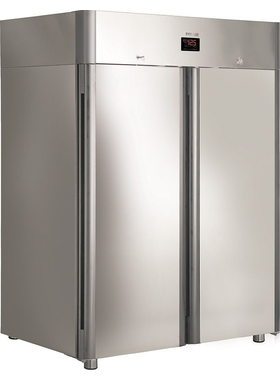 Холодильный шкаф из нержавеющей стали POLAIR CV110-Gm фото, купить в Липецке | Uliss Trade