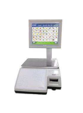 Торговые весы с печатью этикеток Cas CL7000 фото, купить в Липецке | Uliss Trade