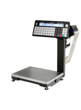 ВПМ-Т1 печатающие торговые весы с устройством подмотки ленты фото, купить в Липецке   Uliss Trade
