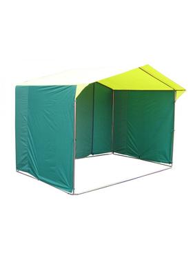 Торговая палатка «Домик» 3 х 3 из квадратной трубы Ø 20х20 мм фото, купить в Липецке | Uliss Trade