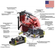 Поломоечно-подметальная машина с цилиндрическими щётками MiniMag 24С